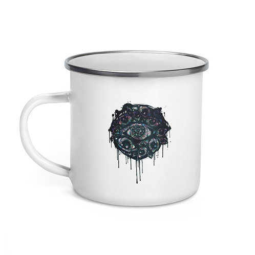 Look Inside - Enamel Mug