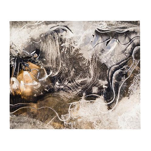 EKD - Abstract Throw Blanket