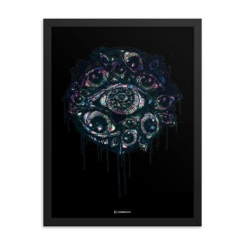 Look Inside - Framed poster