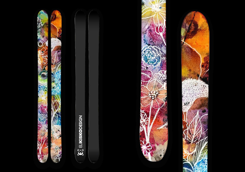Gel Flower Skis