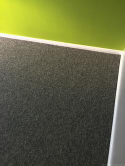 Dark Grey Cord carpet