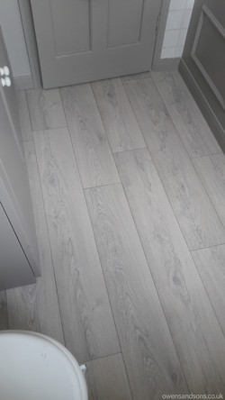 Owens & Sons Carpets, Bathroom Vinyl, Chailey, West Sussex, 260716