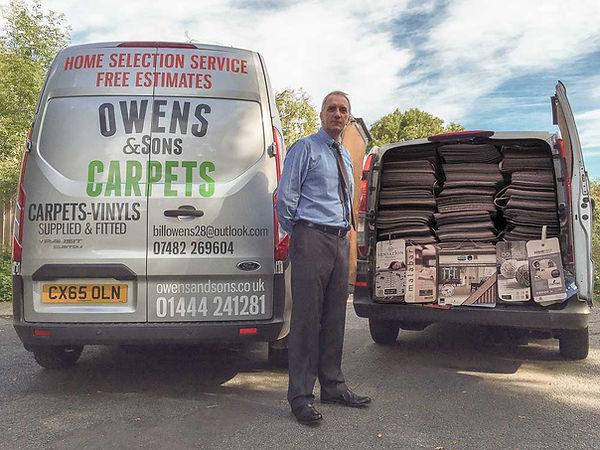 Owens & Sons Carpets, Carpet haywards he