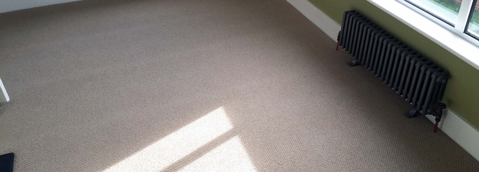 New Carpet Burgess Hill beige wool loop,