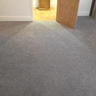 Soft Grey bedroom carpet fitted in twineham, Haywards heath.jpg