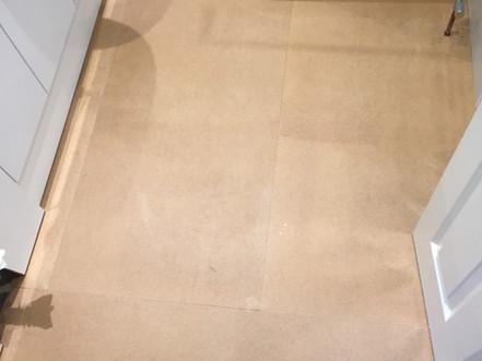 Subfloor bathroom Prep Hardboard Haywards Heath.JPG