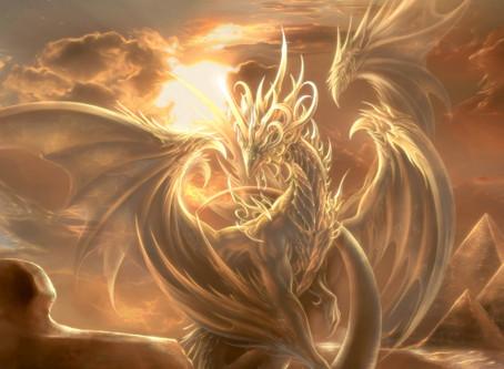 Mangée par un Dragon d'Or