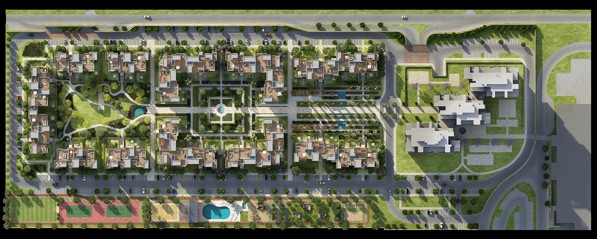 Aeon siteplan