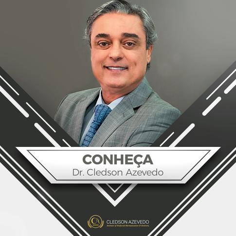 Prof. Cledson Azevedo - D.D.S.  M.Sc.  PhD