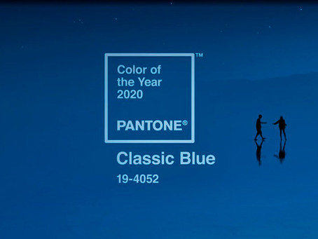 Pantone revela a cor do ano de 2020: Blue Classic