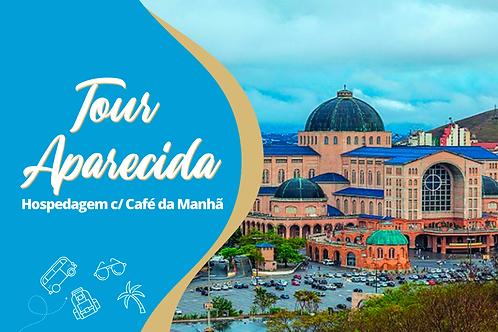 TOUR APARECIDA - Hospedagem c/ Café da Manhã - 20/08 a 22/08/2021