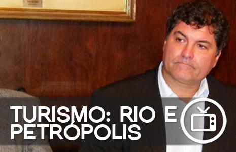 CE de Turismo apoia projeto que liga Rio a Petrópolis por meio de barca e trem