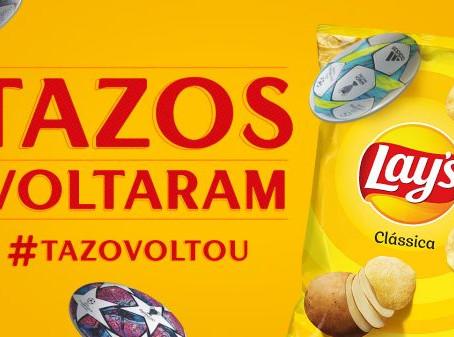 Nostalgia: a volta dos colecionáveis TAZOS pela Lays