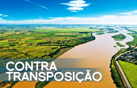 Contra transposição do Rio Paraíba do Sul