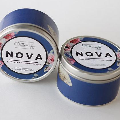 Nova Tin Candle