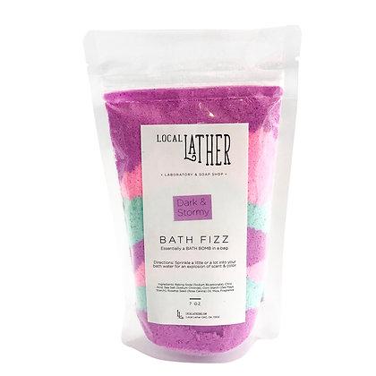Dark & Stormy Bath Fizz