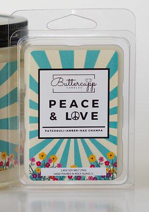 Peace & Love Wax Melts