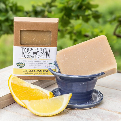 Citrus Sunshine Goat Milk Soap