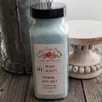 Beach Beauty Mineral Bath Salt