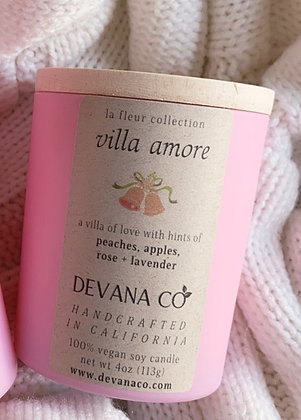 Villa Amore Soy Candle