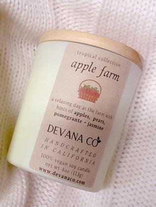 Apple Farm Soy Candle