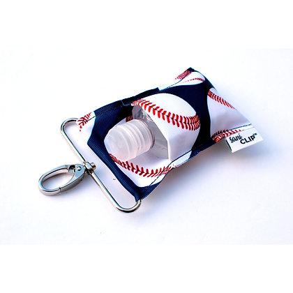 Baseballs SaniClip™ Hand Sanitizer Holder