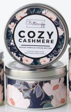 Cozy Cashmere Tin Candle