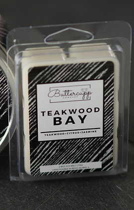 Teakwood Bay Wax Melts