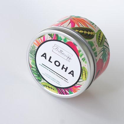 Aloha Tin Candle