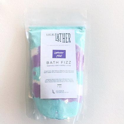 Lavender Mint Bath Fizz