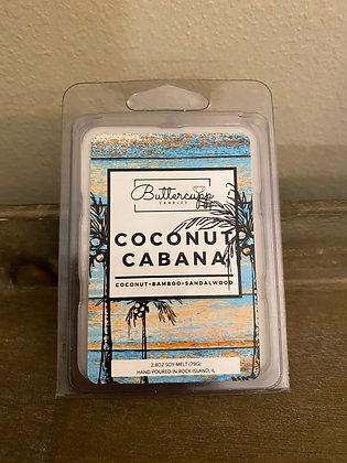 Coconut Cabana Wax Melts