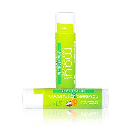 Piña Colada– Natural Lip Balm w/ SPF 15