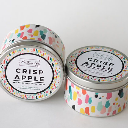 Crisp Apple Tin Candle