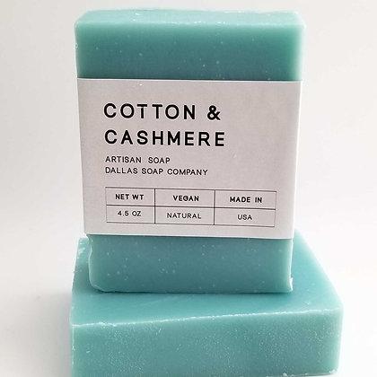 Cotton & Cashmere Soap