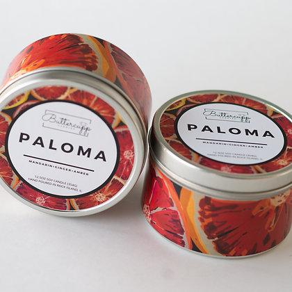 Paloma Tin Candle