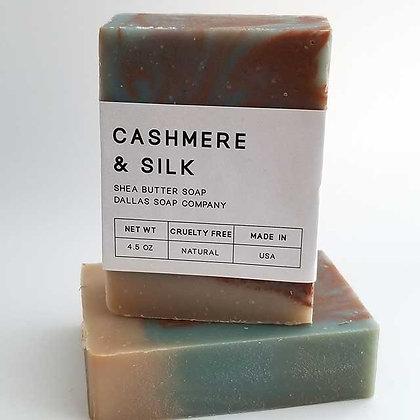 Cashmere & Silk Soap