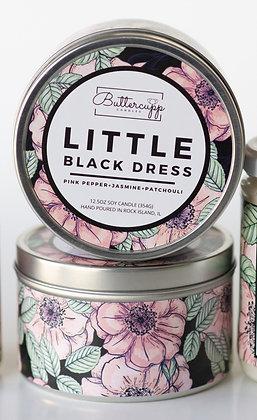 Little Black Dress Tin Candle