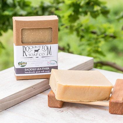 Saddle Leather Goat Milk Soap