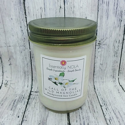 Call of the Wild Magnolias Soy Candle