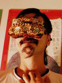 髭書「夢」(本髭)