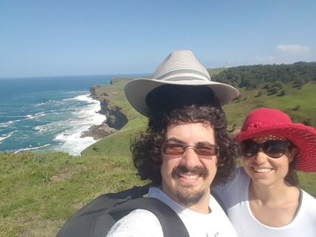 A sunny day on the Cantabrian Coast!
