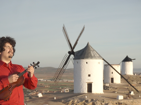 One day with Don Quixote de la Mancha
