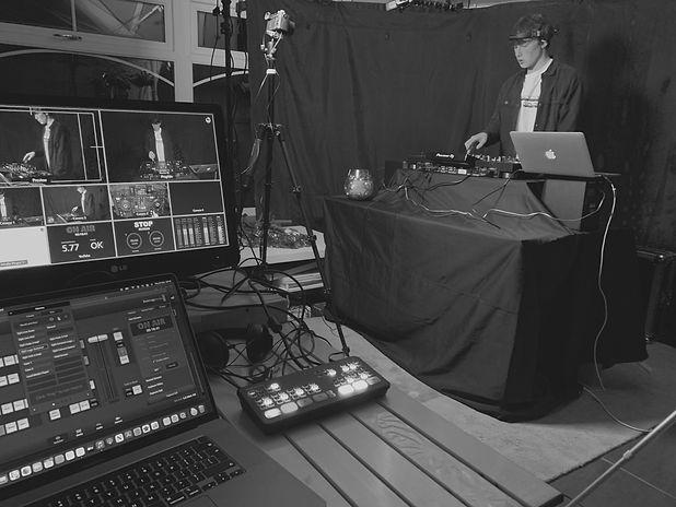 Live Stream DJ Set Mix Fuze Live Media