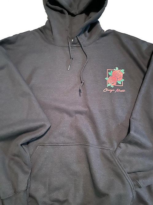 Rose art hoodie