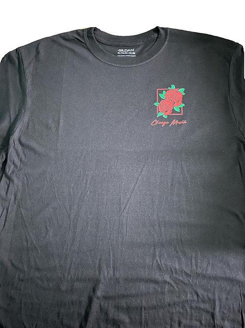 Rose art t-shirt