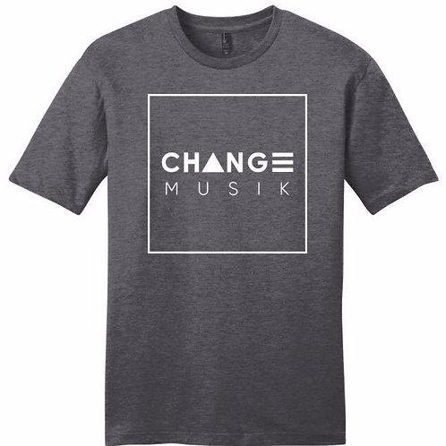 Grey ChangeMusik t-shirt