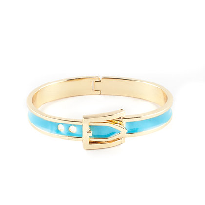 Blue Belt Bangle