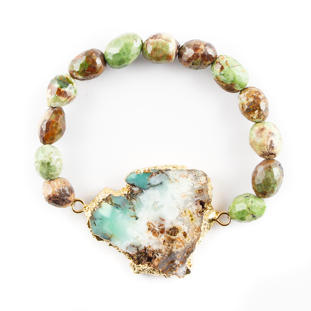 druzy, busywrist, bracelets, agate, gold, jewelry