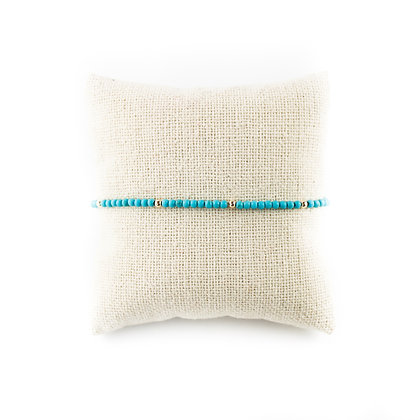 Dainty Turquoise & Gold