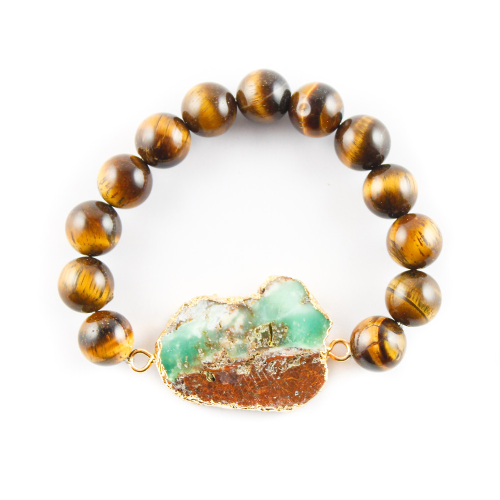 druzy, busywrist, bracelets, agate, gold, jewelry, tiger's eye